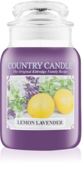 Country Candle Lemon Lavender vonná svíčka 652 g