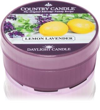 Country Candle Lemon Lavender čajová sviečka 35 g