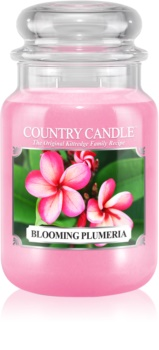 Country Candle Blooming Plumeria scented candle