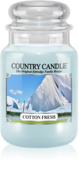 Country Candle Cotton Fresh bougie parfumée 652 g