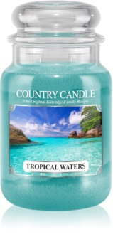 Country Candle Tropical Waters dišeča sveča  652 g