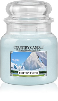 Country Candle Cotton Fresh vonná sviečka 453 g