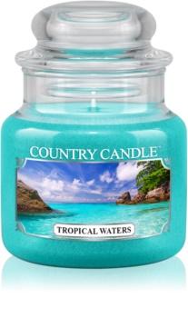 Country Candle Tropical Waters dišeča sveča  104 g
