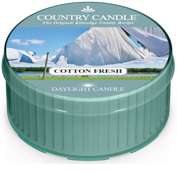 Country Candle Cotton Fresh čajna sveča 42 g