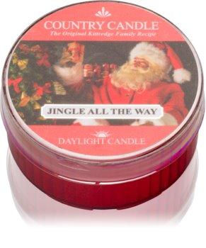 Country Candle Jingle All The Way čajová svíčka 42 g