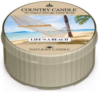 Country Candle Life's a Beach čajna sveča 42 g