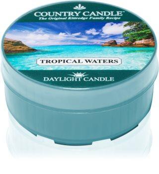 Country Candle Tropical Waters čajová svíčka 42 g