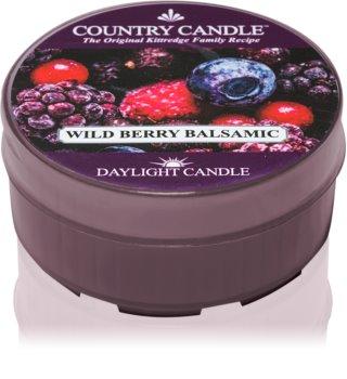 Country Candle Wild Berry Balsamic čajová sviečka 42 g