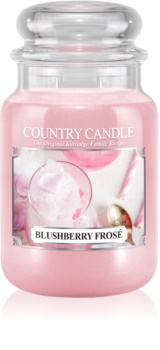 Country Candle Blushberry Frosé candela profumata 652 g