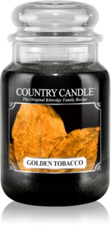 Country Candle Golden Tobacco dišeča sveča