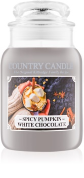 Country Candle Spicy Pumpkin White Chocolate illatos gyertya  652 g