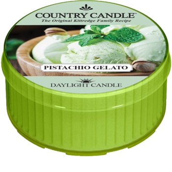 Country Candle Pistachio Gelato tealight candle