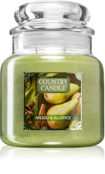 Country Candle Anjou & Allspice duftkerze  mittlere