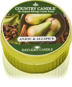 Country Candle Anjou & Allspice Duft-Teelicht 42 g
