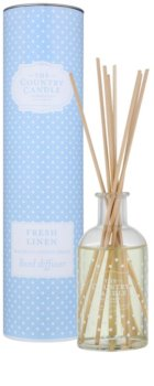 Country Candle Fresh Linen aroma difusor com recarga 100 ml