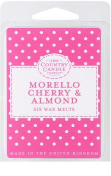 Country Candle Morello Cherry & Almond cera para lámparas aromáticas 60 g