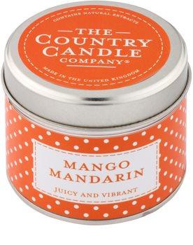 Country Candle Mango Mandarin vela perfumada    en lata