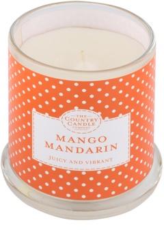 Country Candle Mango Mandarin vela perfumado   em vidro com tampa