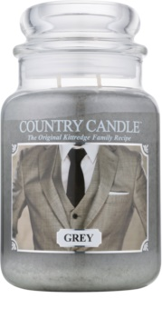 Country Candle Grey bougie parfumée 652 g