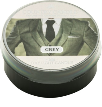 Country Candle Grey čajová svíčka 42 g