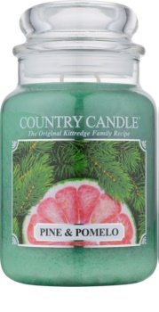 Country Candle Pine & Pomelo bougie parfumée 652 g