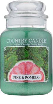 Country Candle Pine & Pomelo vonná svíčka 652 g