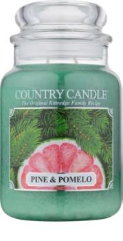 Country Candle Pine & Pomelo vonná sviečka 652 g