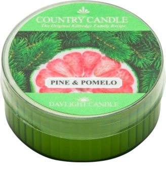 Country Candle Pine & Pomelo Duft-Teelicht 42 g