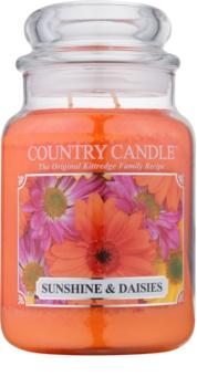 Country Candle Sunshine & Daisies dišeča sveča  652 g
