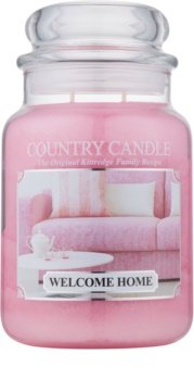 Country Candle Welcome Home bougie parfumée