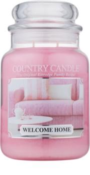 Country Candle Welcome Home candela profumata 652 g