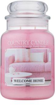 Country Candle Welcome Home dišeča sveča  652 g