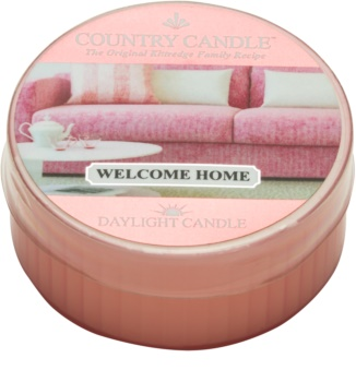 Country Candle Welcome Home tealight candle