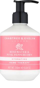 Crabtree & Evelyn Rosewater tiefenwirksame feuchtigkeitsspendende Creme für die Hände