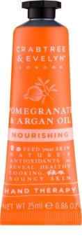Crabtree & Evelyn Pomegranate hydratačný krém na ruky