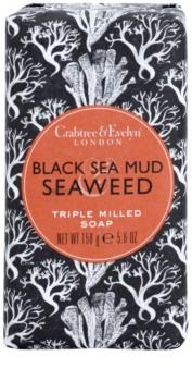 Crabtree & Evelyn Black Sea Mud & Seaweed jabón de lujo con algas marinas y barro