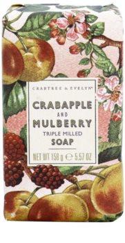 Crabtree & Evelyn Crabapple & Mulberry jabón de lujo con manzana y morera