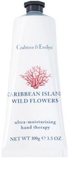 Crabtree & Evelyn Caribbean Island Wild Flowers hydratační krém na ruce