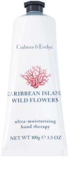 Crabtree & Evelyn Caribbean Island Wild Flowers Moisturising Cream For Hands