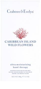 Crabtree & Evelyn Caribbean Island Wild Flowers crema hidratante para manos