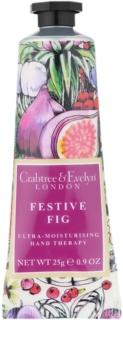 Crabtree & Evelyn Festive Fig creme intensivo hidratante para mãos