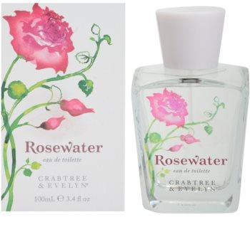 Crabtree & Evelyn Rosewater Eau de Toilette para mulheres 100 ml