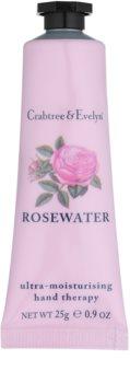 Crabtree & Evelyn Rosewater intenzív hidratáló krém kézre