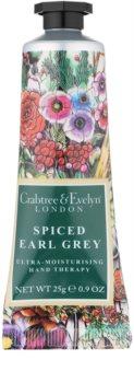 Crabtree & Evelyn Spiced Earl Grey intensive, hydratisierende Creme für die Hände