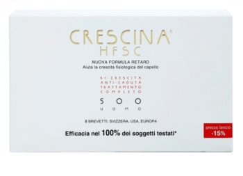 Crescina HFSC 500 ampule proti střednímu a pokročilému řídnutí vlasů pro muže