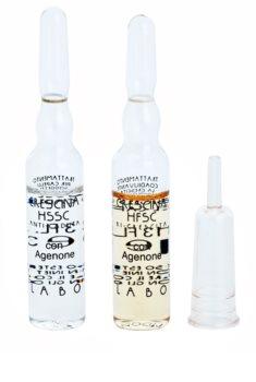 Crescina HFSC AGENONE 500 ampolla para la caída del cabello intermedia y avanzada para hombre