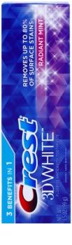 Crest 3D White Radiant Mint pasta de dientes para dientes blancos y radiantes