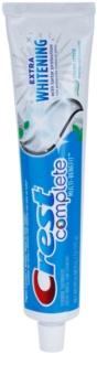 Crest Complete Extra Whitening bleichende Paste für den kompletten Schutz Ihrer Zähne
