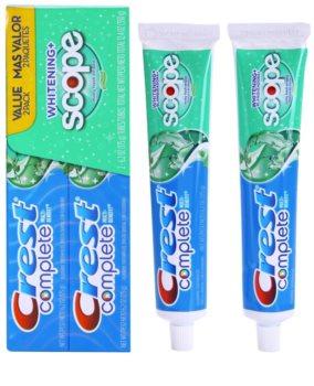 Crest Complete Scope Whitening+ dentífrico com efeito branqueador