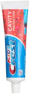 Crest Kid's Cavity Protection pasta de dientes para niños con fluoruro